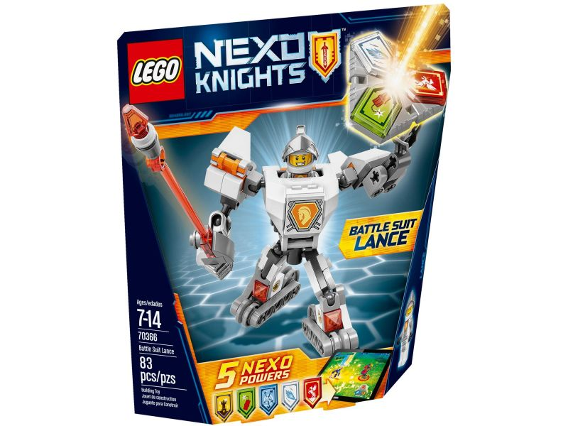 LEGO Nexo Knights 70366 Strijdharnas Lance