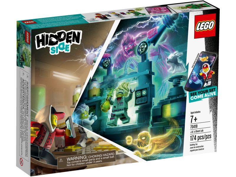 LEGO Hidden Side 70418 J.B.'s Spooklab