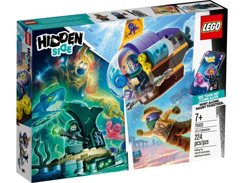 LEGO Hidden Side 70433 J.B.'s duikboot
