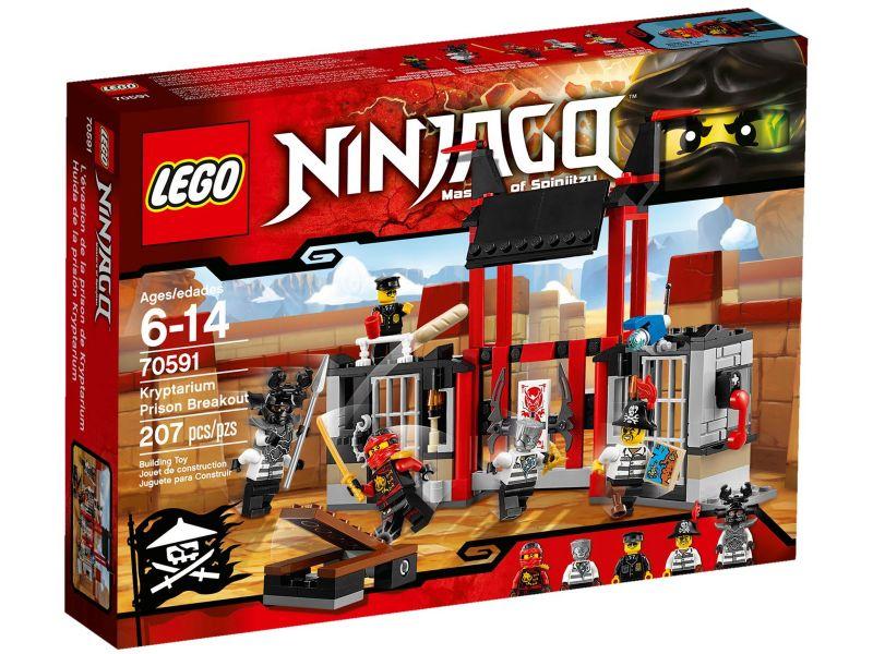 LEGO Ninjago 70591 Ontsnapping uit de Kryptarium Gevangenis