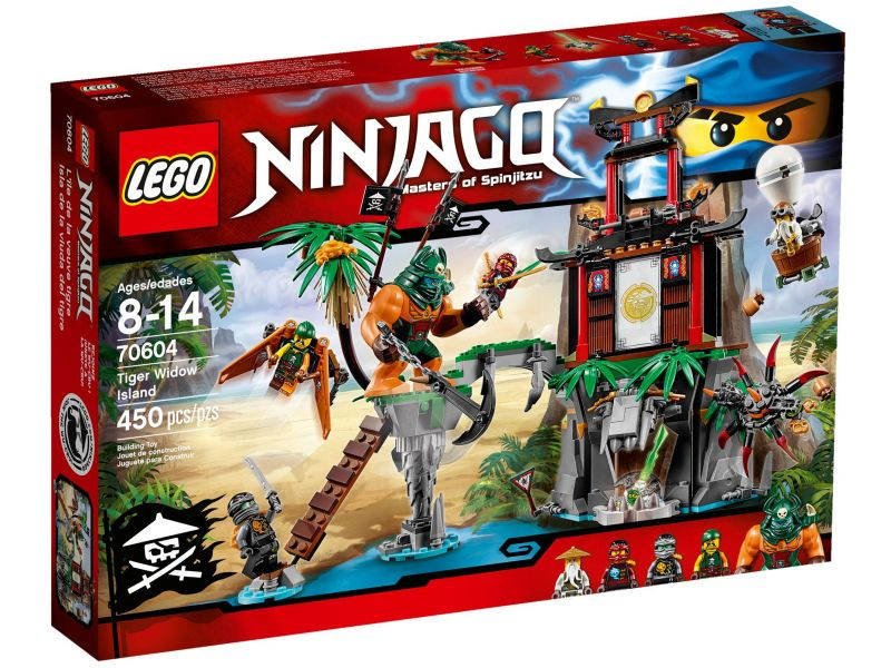 LEGO Ninjago 70604 Tiger Widow Eiland