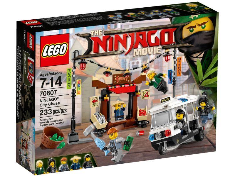 LEGO Ninjago 70607 Achtervolging door de stad
