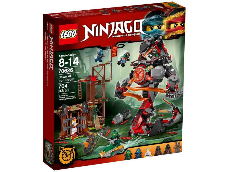 LEGO Ninjago 70626 De komst van de Iron Doom