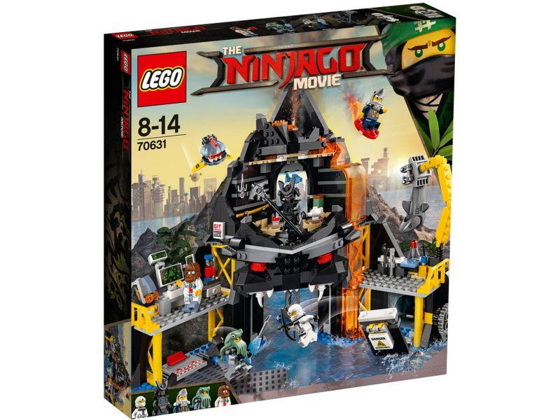 LEGO Ninjago 70631 Garmadon's vulkaanbasis