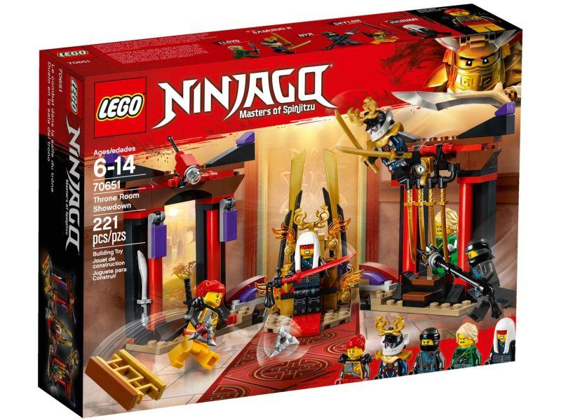LEGO Ninjago 70651 Troonzaal Duel
