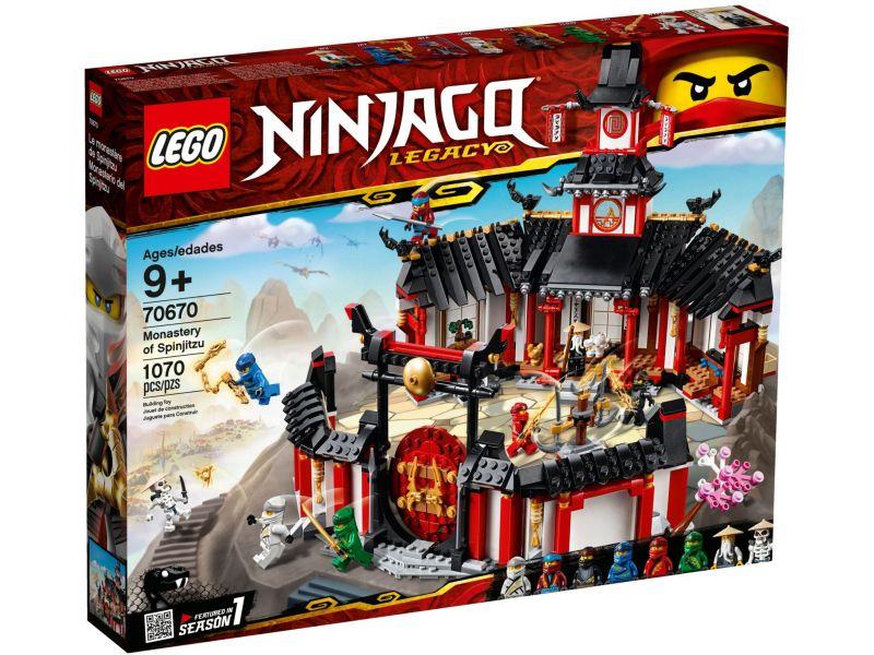LEGO Ninjago 70670 Het Spinjitzu klooster