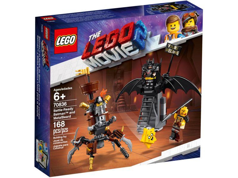 LEGO Movie 2 70836 Gevechtsklare Batman en Metaalbaard