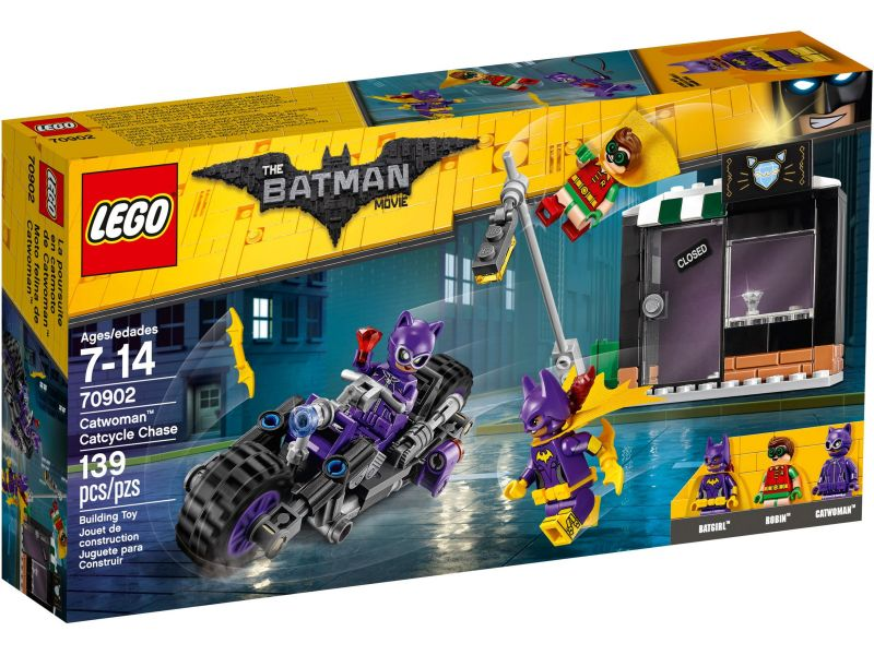LEGO Batman Movie 70902 Catwoman Catcycle achtervolging