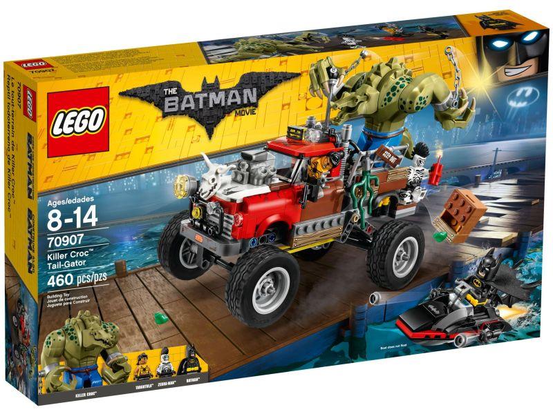 LEGO Batman Movie 70907 Killer Croc monstertruck