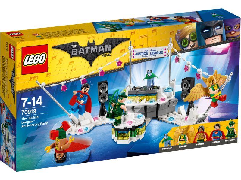 LEGO Batman Movie 70919 Het Justice League jubileumfeest