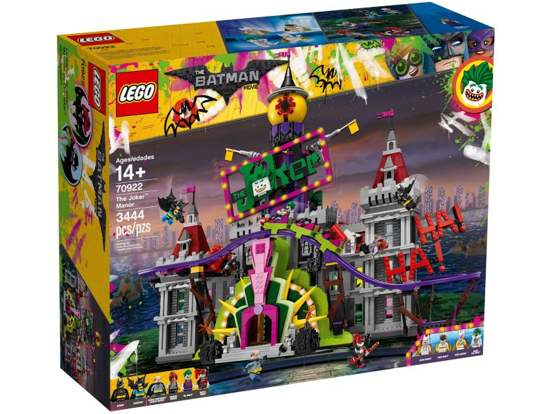 LEGO 70922 The Joker Manor