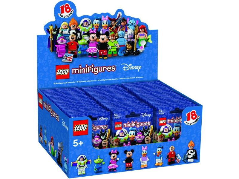 LEGO 71012 Doos Minifigures Disney