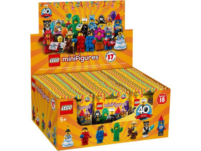 LEGO 71021 Doos Minifigures Serie 18: Feestje