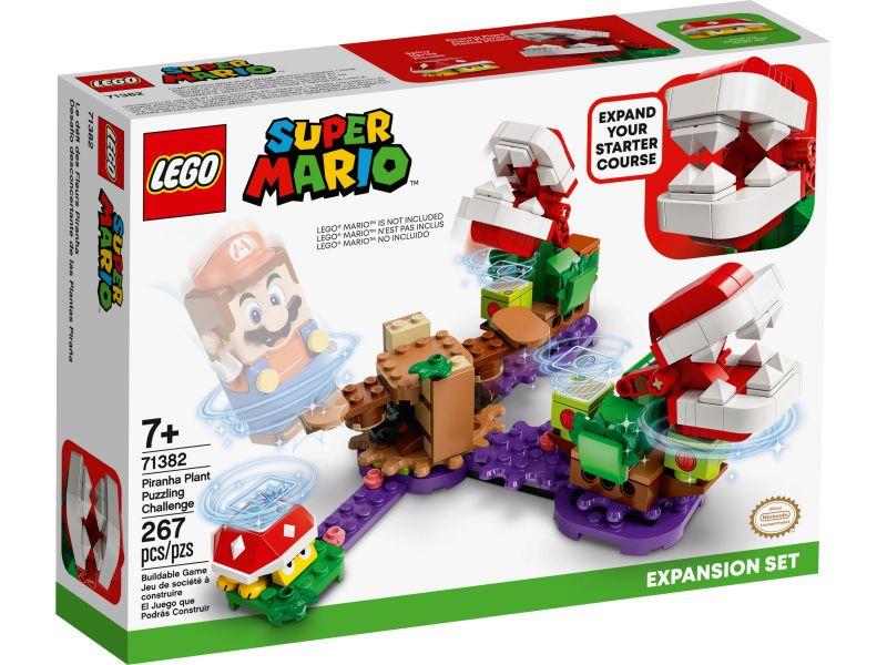 LEGO Super Mario 71382 Uitbreidingsset: Piranha Plant-puzzeluitdaging