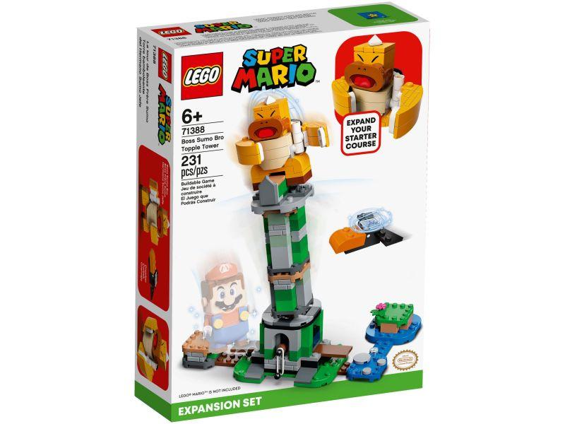 LEGO Super Mario 71388 Eindbaasgevecht op de Sumo Bro-toren Uitbreidingsset