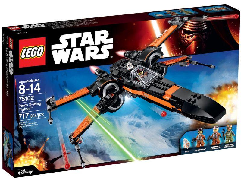 LEGO Star Wars 75102 Poe's X-Wing Starfighter