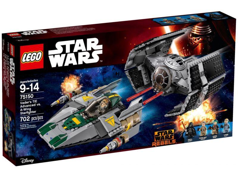 LEGO Star Wars 75150 TIE Advanced tegen A-Wing Starfighter