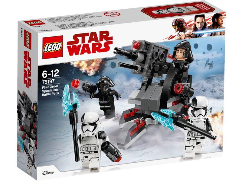 LEGO Star Wars 75197 First Order specialisten Battle Pack