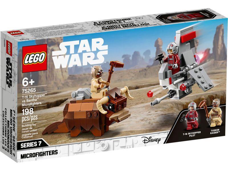 LEGO Star Wars 75265 T-16 Skyhopper vs. Bantha Microfighters