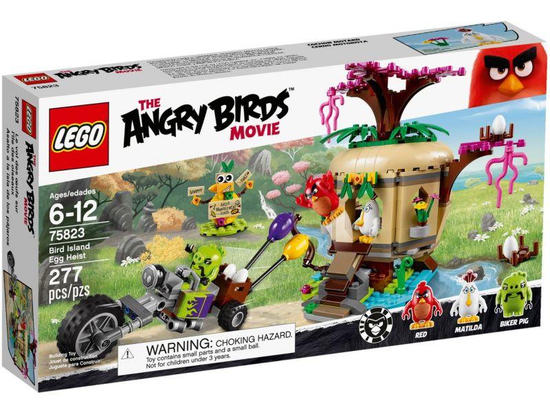 LEGO Angry Birds 75823 Bird Island Eierenroof