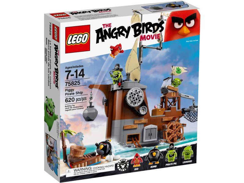 LEGO Angry Birds 75825 Piggy Piratenschip