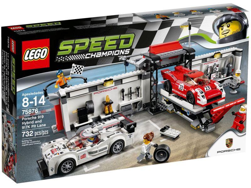 LEGO Speed Champions 75876 Porsche 919 Hybrid en 917K