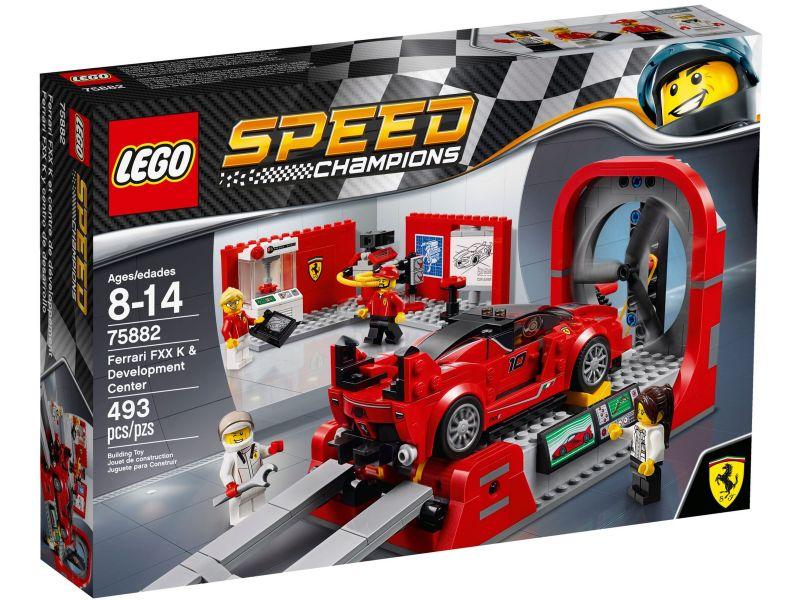 LEGO Speed Champions 75882 Ferrari FXX Ontwikkelingcentrum