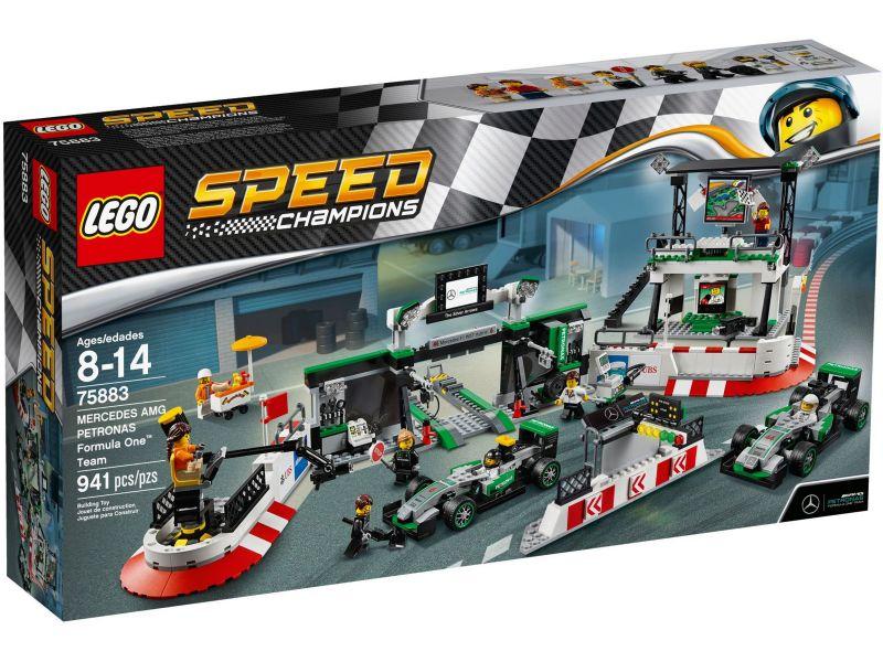 LEGO Speed Champions 75883 Mercedes AMG Petronas Formule 1