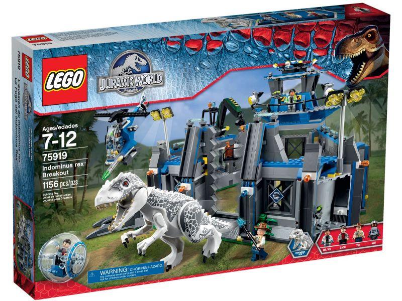 LEGO Jurassic World 75919 Uitbraak van Indominus Rex