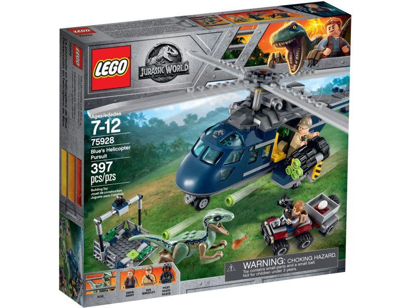 LEGO Jurassic World 75928 Helikopterachtervolging van Blue