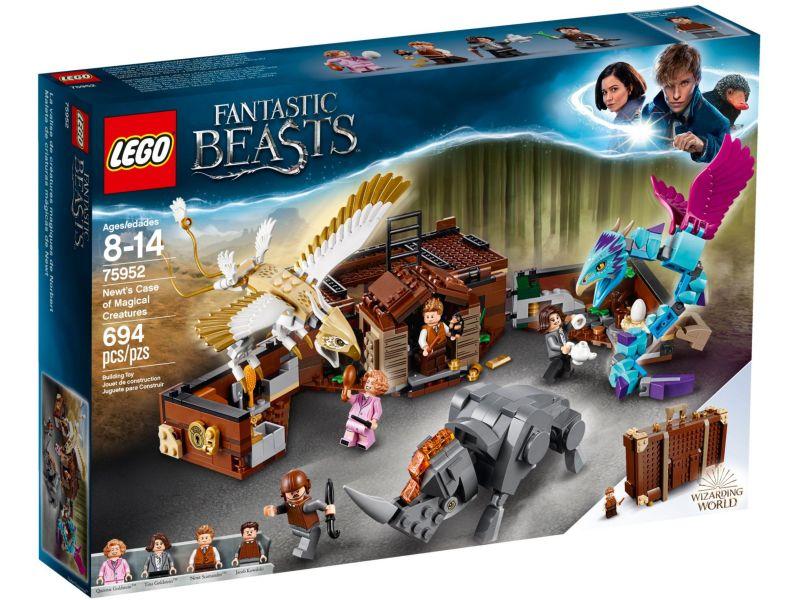 LEGO Harry Potter 75952 Newts Case of Magical Creatures