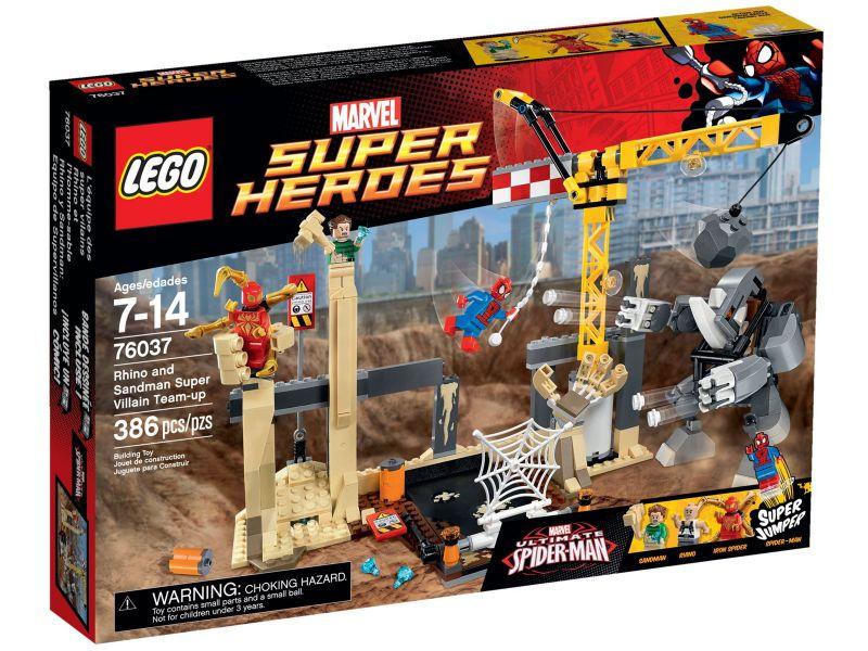 LEGO Super Heroes 76037 Rhino en Sandman Samenwerking