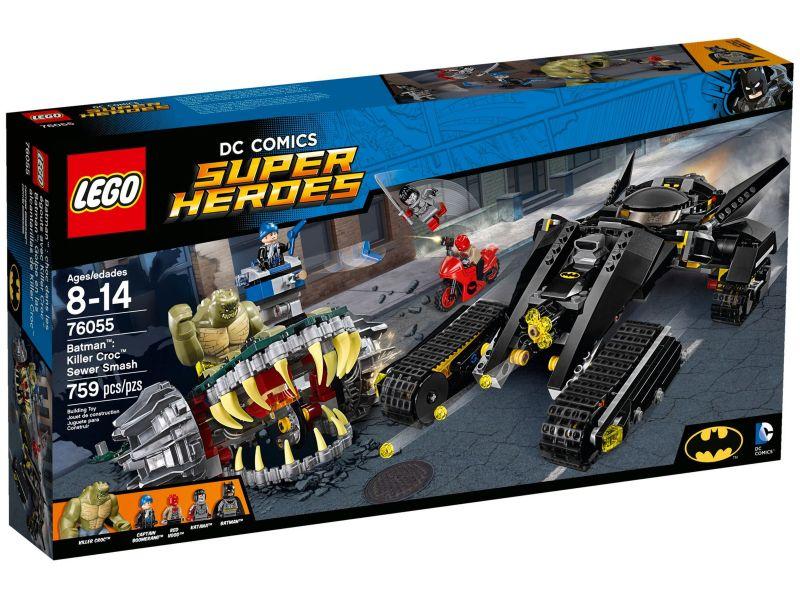 LEGO Super Heroes 76055 Batman: Killer Croc Rioolravage