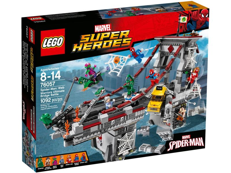 LEGO Super Heroes 76057 Spider-Man: Ultiem Brugduel