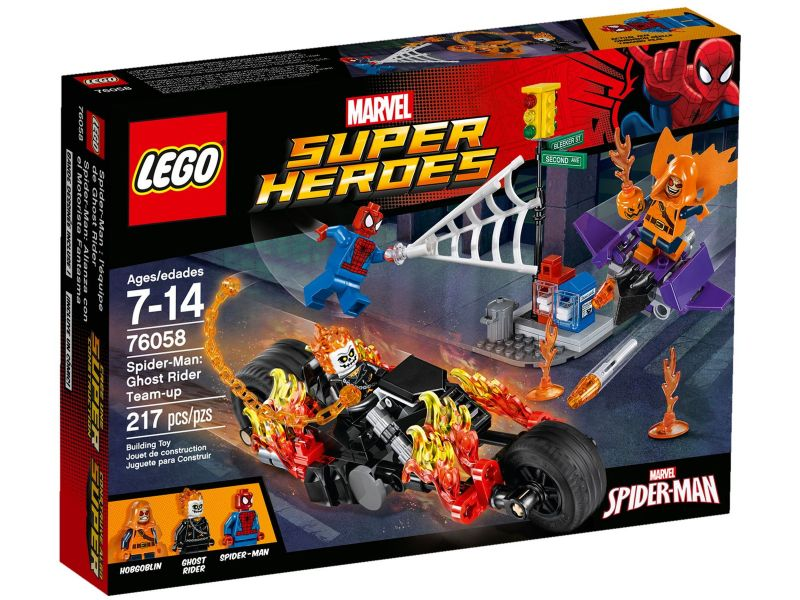 LEGO Super Heroes 76058 Spider-Man: Ghost Rider
