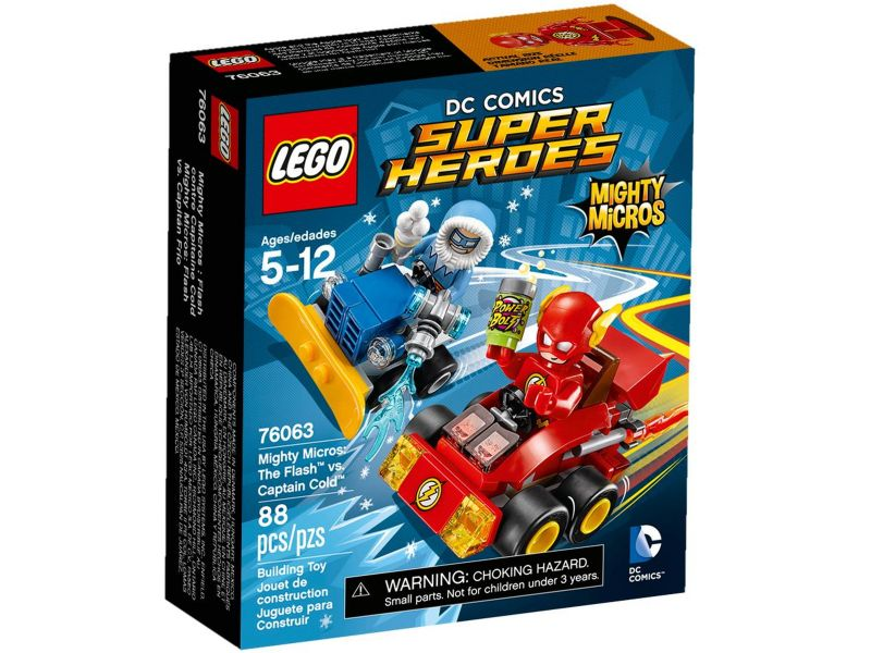 LEGO Super Heroes 76063 The Flash vs. Captain Cold