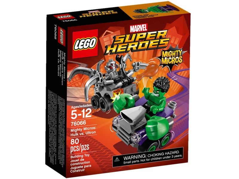 LEGO Super Heroes 76066 Mighty Micros Hulk vs. Ultron