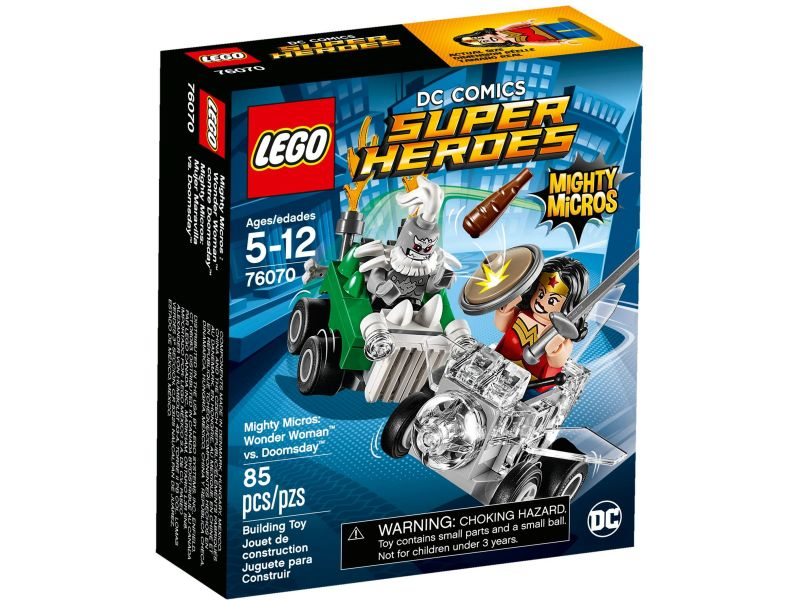 LEGO Super Heroes 76070 Wonder Woman vs. Doomsday