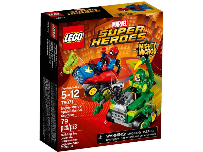 LEGO Super Heroes 76071 Spider-Man vs. Scorpion