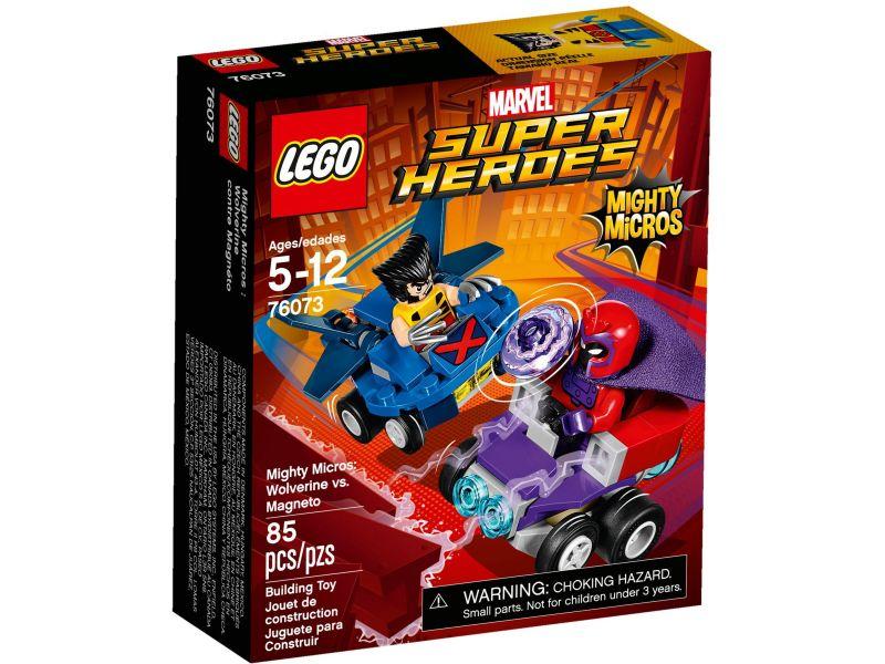 LEGO Super Heroes 76073 Wolverine vs. Magneto