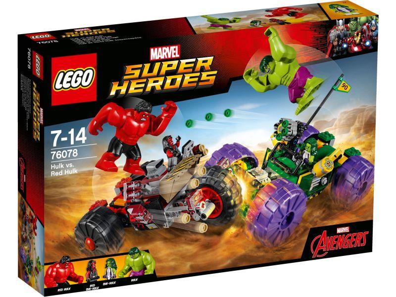 LEGO Super Heroes 76078 Hulk vs. Red Hulk