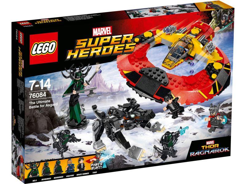 LEGO Super Heroes 76084 De definitieve strijd om Asgaard