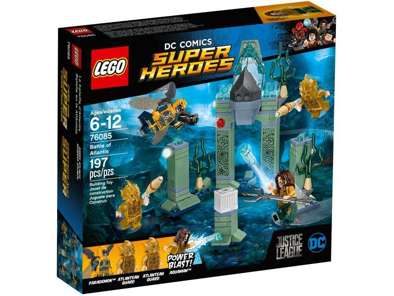 LEGO Super Heroes 76085 Slag om Atlantis