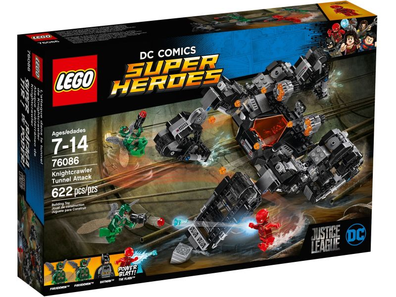 LEGO Super Heroes 76086 Knightcrawler tunnelaanval