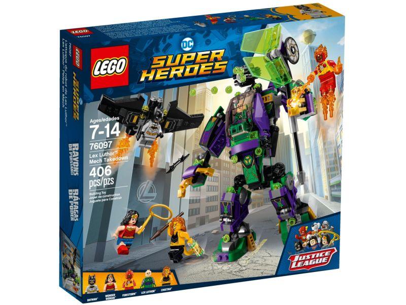 LEGO Super Heroes 76097 Lex Luthor mecha-overwinning