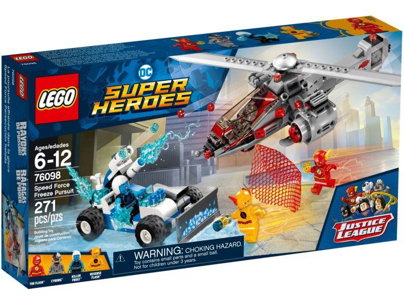 LEGO Super Heroes 76098 Speed Force vriesachtervolging