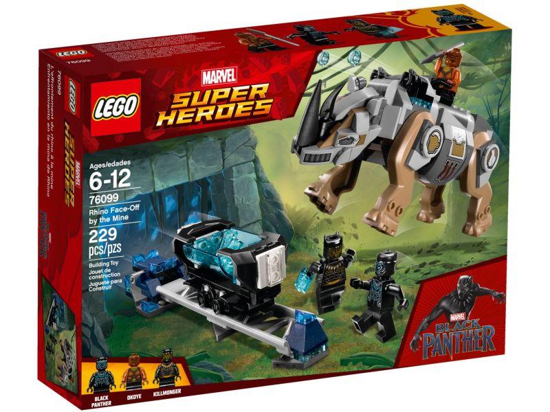 LEGO Super Heroes 76099 Neushoornstrijd bij de mijn