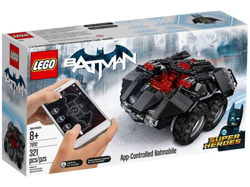 LEGO Super Heroes 76112 Batmobiel met app-bediening