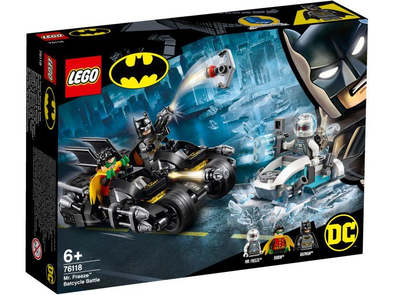 LEGO Super Heroes 76118 Mr. Freeze Het Batcycle-gevecht