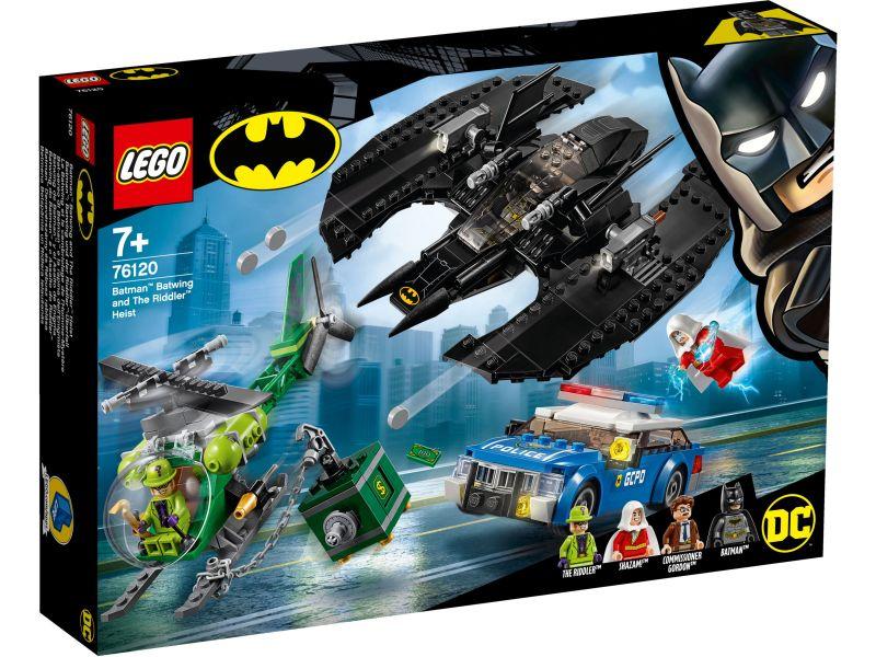 LEGO Super Heroes 76120 Batwing en de Riddler overval